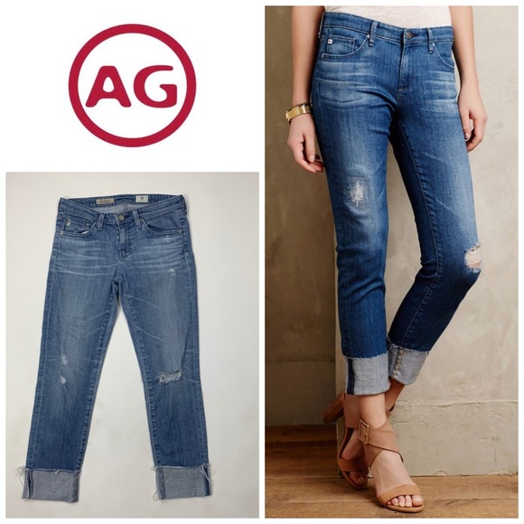 Ag Adriano Goldschmied Denim - AG The Stevie Cuff Jeans 👖